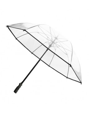 Smati parapluie de golf transparent à bordure noire