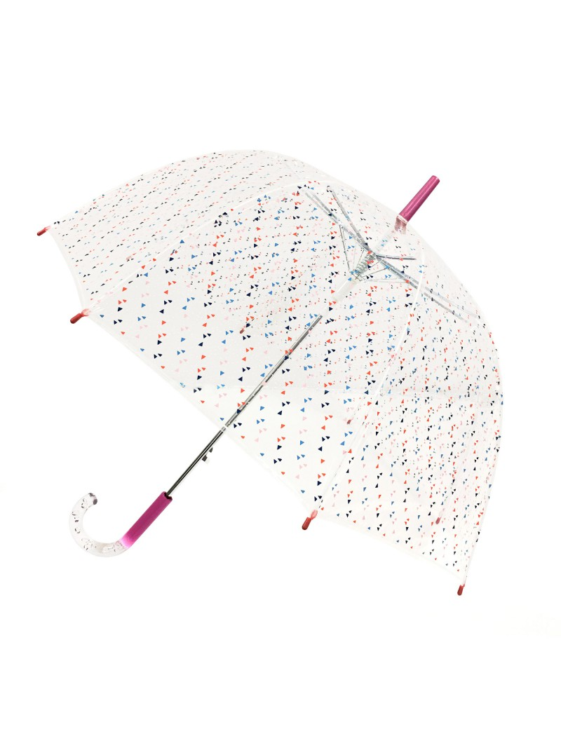 Smati parapluie transparent cloche kite coloré