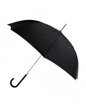 Smati parapluie femme original noir avec strass