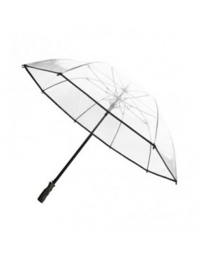 Smati parapluie de golf transparent ¨¤ bordure noire