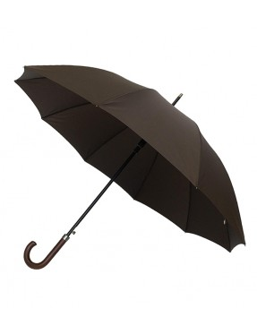 Smati parapluie canne homme automatique marron