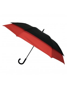 Smati parapluie original double extension rouge